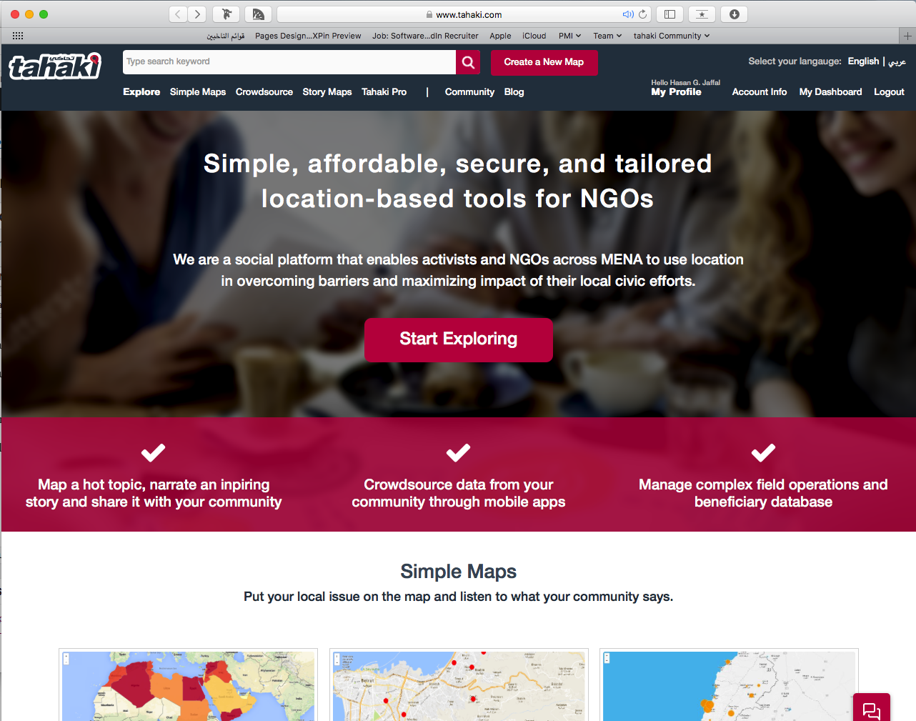 How can I create a simple map from scratch? - tahaki Pro